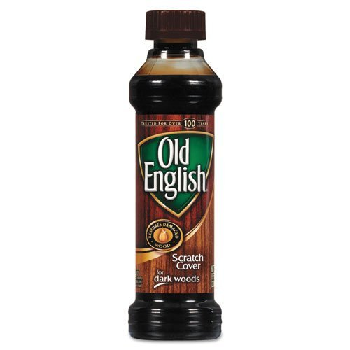 Old English Scratch Cover for Dark Woods, Wood Polish, 8 fl oz Bottle (3) by Old English