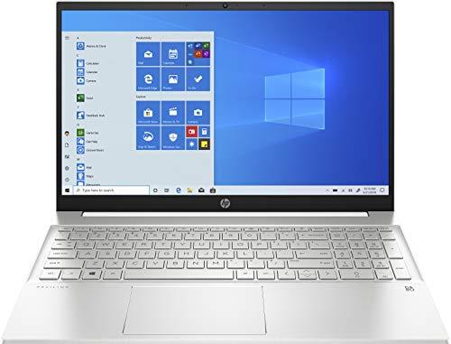 HP Pavilion 15-eg0017ns – Ordenador portátil de 15.6″ FullHD (Intel Core i7-1165G7, 16GB de RAM, 512GB SSD, Nvidia MX450-2GB, Windows 10 ) Blanco – teclado QWERTY Español