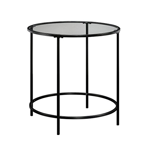 Sauder 414969 Harvey Park Side Table, L: 22.01