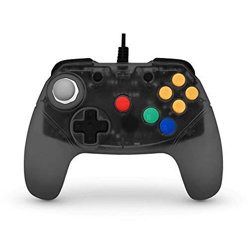 (Retro Fighters Brawler64 Next Gen N64 Controller Game Pad - Nintendo 64 - Smoke Gray)