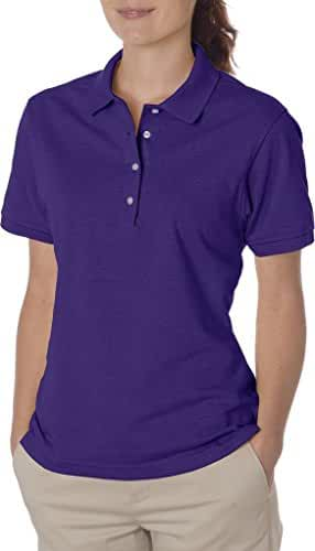 Jerzees womens 5.6 oz. 50/50 Jersey Polo with SpotShield(437W)