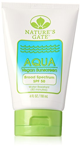 Natures Gate Sun Care (Nature's Gate - Aqua Block Spf 50, 4 fl oz lotion)