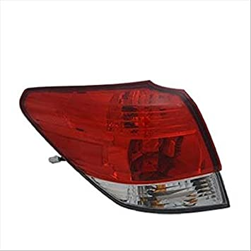 Partslink Number SU2800104 Multiple Manufacturers OE Replacement Subaru Legacy Left Tail Lamp Assembly