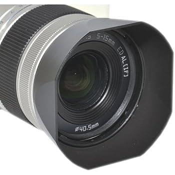 JJC LH-RBA40.5 Lens Hood Shade for Pentax 06 Telephoto Zoom 15mm-45mm F2.8 Lens Replaces Pentax PH-RBA40.5