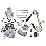 FINDAUTO Oil Pump Water Pump Timing Chain Fit for