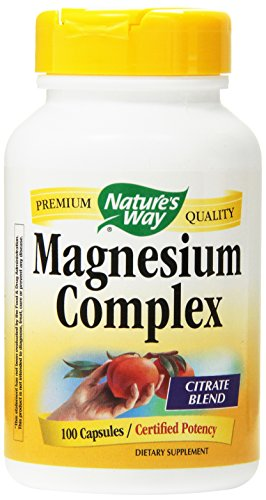 Natures Way Magnesium Complex 100 Capsules  (Pack of 2)