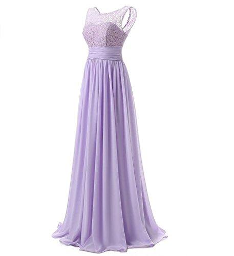 Brautjungfernkleider Festliche Elegant Lang Abendkleider Damen La Lilac Jugendweihe Kleider Marie Braut Kleider qvyaB