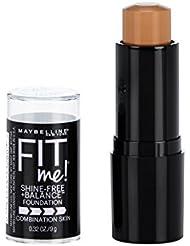 Maybelline Fit Me Shine-Free + Balance Stick Foundation, Toffee, 0.32 oz.