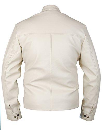 Leatherly Veste Homme Need For Speed 'Aaron Paul' Cuir Veste