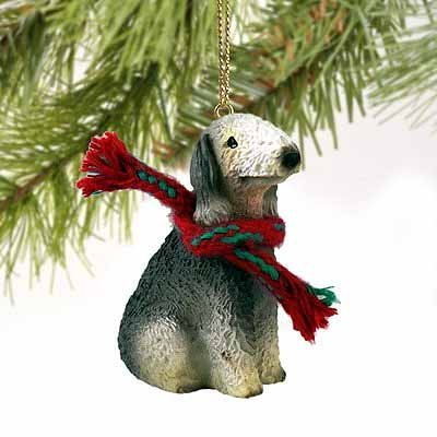 Bedlington Terrier Miniature Dog Ornament by Conversation Concepts ()