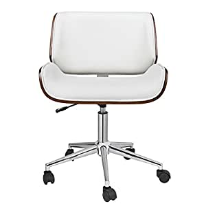 Porthos Home Dove Office Chair White Kitchen