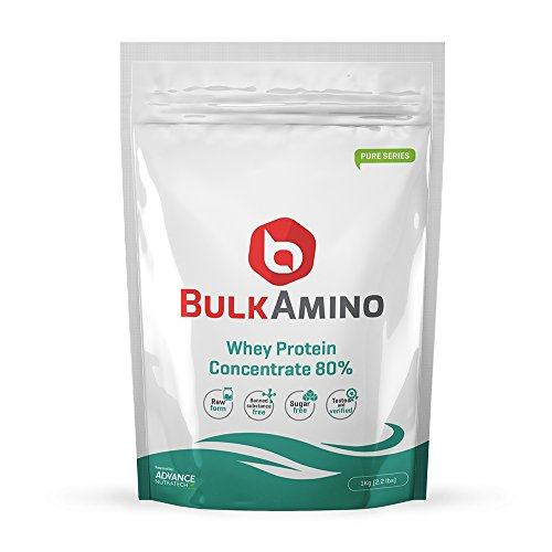 Advance Nutratech Bulk Amino Whey Protein Concentrate 80 % Raw...