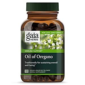 Gut Health Shop 41dLhOMUj%2BL._SS300_ Gaia Herbs Oil of Oregano, Vegan Liquid Capsules, 120 Count - Immune and Intestinal Support for Healthy Digestive Flora