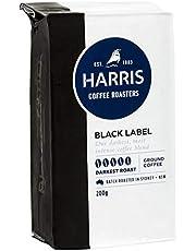 Harris Black Label Ground Coffee - Roasted in Sydney (200g x 6 Packs)