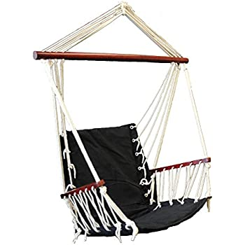 Suesport blue hanging rope hammock chair for Indoor hanging rope chair