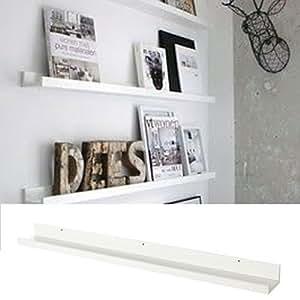 Amazon.com: Wallniture Denver Modern Design Floating Picture Display ...