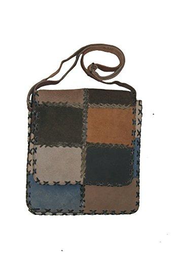 Indimode, sac à bandoulière multicolore pour femmes 3