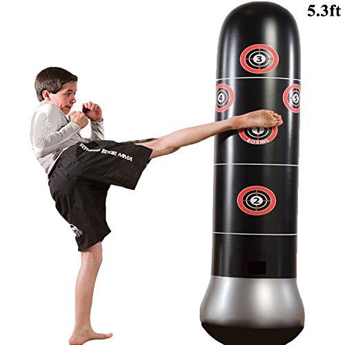 Punching Bag,Inflatable Punching Bag Boxing Bag Freestanding Great Gift for Kids Boys Girls