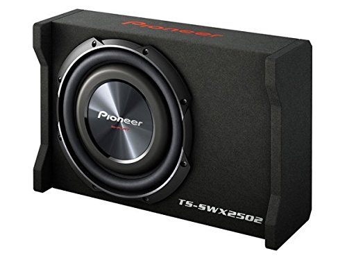 Pioneer TS-SWX2502 10 inch Shallow-Mount Pre-Loaded Enclosure (2 12 Inch Subwoofers Pioneer)