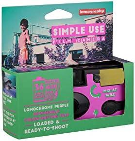 Lomography Simple Use Camera, Lomochrome Purple (suc100lc) 41dLlUNkpmL