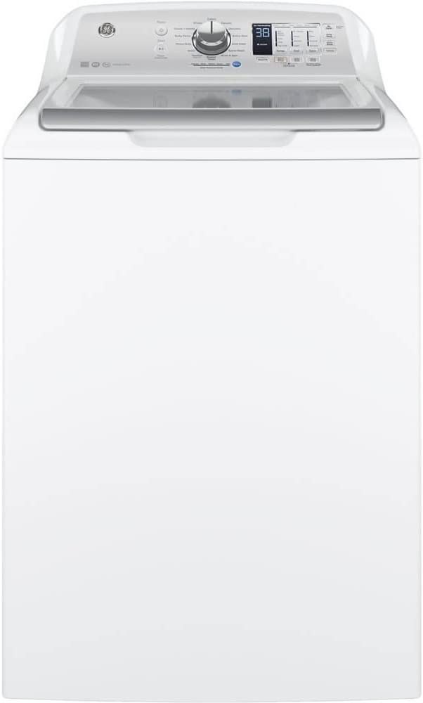 B072QF8W97 GE GTW685BSLWS Washer with Stainless Steel Basket, 4.5 Cu. Ft. Capacity, 14 Cycles, White, 41dLmDhyc7L.SL1000_