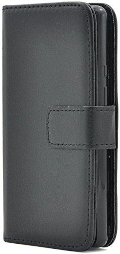 通常毎週ストラップPLATA SH-02H / SHV33 / 503SH / DM-01H ケース 手帳型 カラー レザー スタンド ケース ポーチ 手帳 カバー 【 ブラック 黒 くろ black 】 DSH02H-77BK
