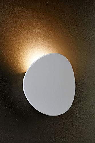 Bruck Lighting 103060wh Lunaro LED Wall Sconce, Textured White Finish