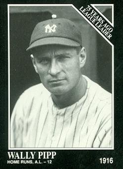 Wally Pipp Baseball Card (New York Yankees) 1991 Sporting News Conlon Collection #157 - Conlon Collection
