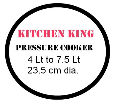 Kitchen King Stainless Steel Pressure cooker gasket 4 to 7Lt Indiabazaar