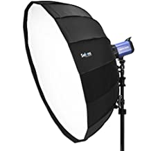 Selens 34 inches/85 centimeters 16 Rods Portable Quick Folding Umbrella Softbox with Bowens Speedring Mount for Photo Studio Lighting Portrait Photography