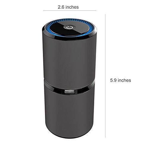 Anion Air Purifier Product ~ Thinkga car ionizer air purifier removes dust cigarette