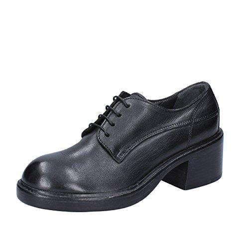 MOMA Pelle Classiche Shoe Nero Oxford EU Donna 35 rr0aHOq6