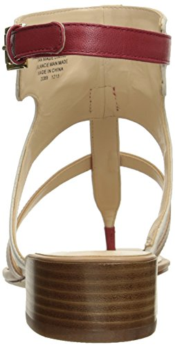 Sandal Nine Leather Dress Off White Justnice Multi Women West razrX