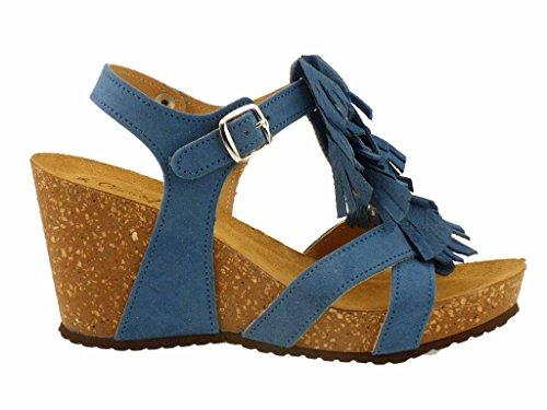Coloris Bleu Sandales v0970a amp;abricot Coco 4 8gIw1Hx