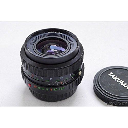 - Pentax Takumar 28mm f/2.8 Bayonet Mount Wide Angle Lens