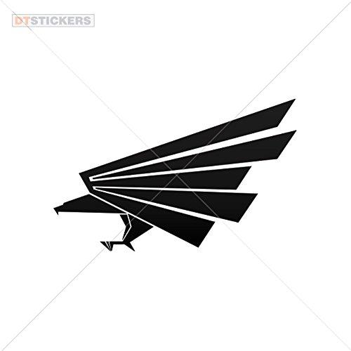 Decal Eagle Symbol Car window jet ski (7 X 4,38 In. ) Vinyl color -
