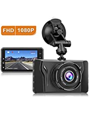 Dash Cam for Cars 1080P FHD Car Dash Camera CHORTAU 2020 New Version Car Camera Recorder 3.2Inch Screen Dashboard Camera with 170°Wide Angle, Super Night Version, WDR, Loop Recording, Parking Monitor