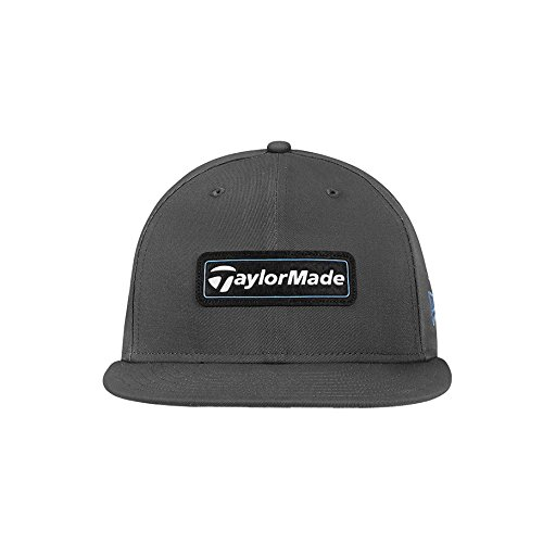 (TaylorMade Golf 2018 Men's Lifestyle New Era 9fifty Hat, Graphite/blue, One Size)