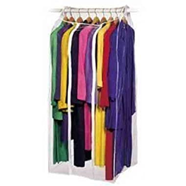 2 X Jumbo Frameless Garment Bag Organize Storage Clean Neat (24 x22 x56 )