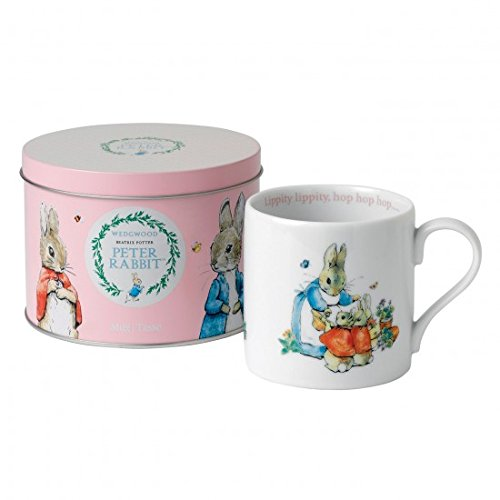 Wedgwood Peter Rabbit Mug in a Tin, Pink