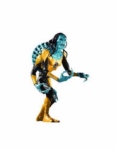Blackest Night: Series 2 Action Figure: Sinestro Corps Yellow Lantern Kryb