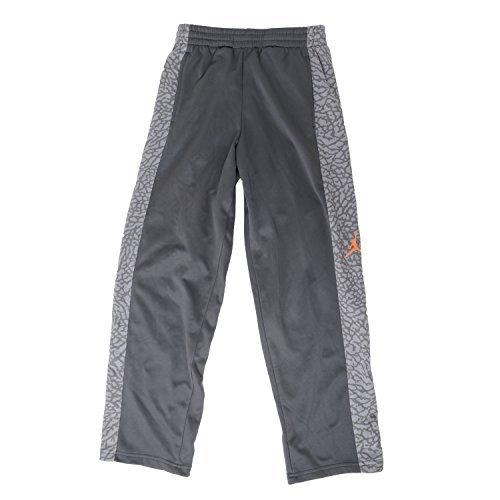 Jordan Big Boys Therma-Fit Basketball Pants - Grey- Size M (10-12YRS)