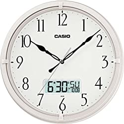 Casio Ic-01-7 Wall Clock with Day and Date Analog Digital Display