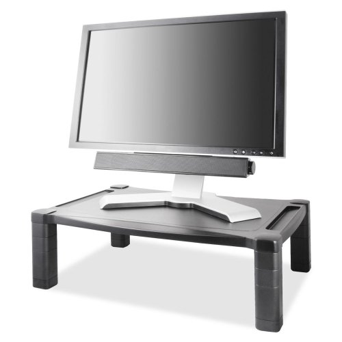 Wholesale CASE of 5 - Kantek Wide screen Adjustable Monitor-Monitor Stand Deluxe, Wide, 20