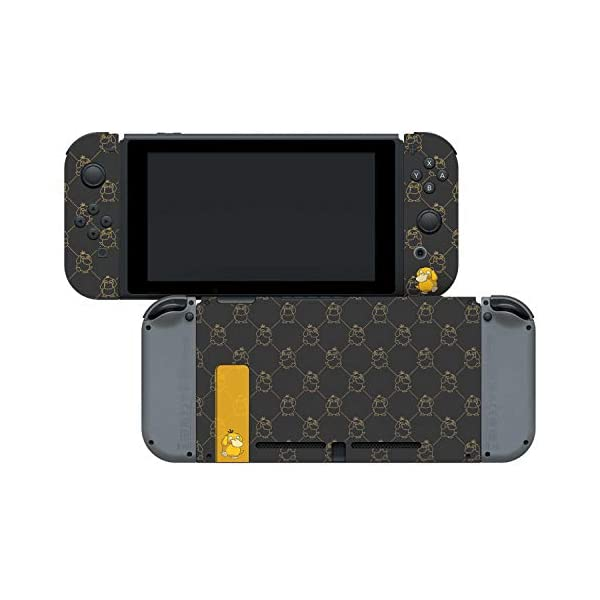 "Controller Gear Officially Licensed Nintendo Pokémon Switch Console Skin ""Psyduck Set 1"" 3"