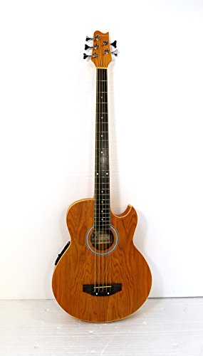 5 String Acoustic Electric Cutaway Bass Guitar by Harmonia