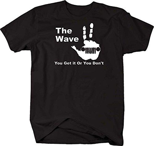 The Wave - You Get it Or You Don't T Shirt - Medium Black