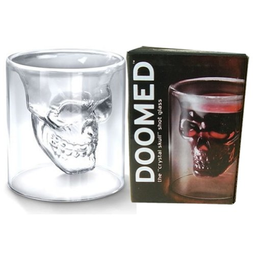 AutoM Crystal Skull Head Wine Vodka Shot Glass Drinking Ware Cup For Home Bar New