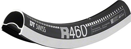 (DT Swiss R 460 Rim 700C ISO 622 32H Double wall Pinned Presta Black)