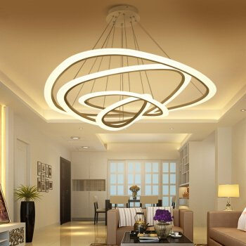 Moderno e minimalista creative led lampadari lampadario ristorante  soggiorno ville doppia scalinata lampadario arti creative personalità